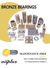 Stamping Die Bronze Gleitlager Machining Bushings Elements Oilless Duide Standard استاندارد