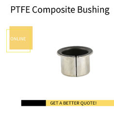 Metric Sized Cylindrical Bearings - Steel Bronze PTFE Split Bushings | Self-lubricating Bearings