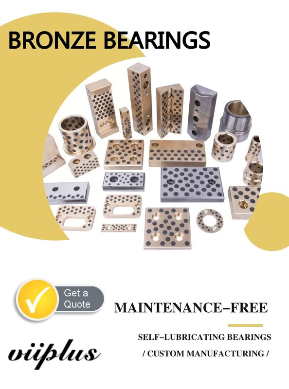 Stamping Die Bronze Gleitlager Machining Bushings Elements Oilless Duide Standard استاندارد تامین کننده